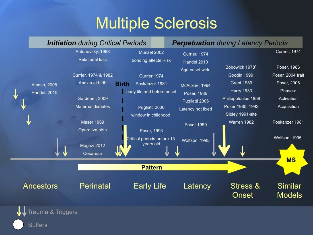 Looking at Multiple Sclerosis from the Chronic Illness Model Perspective, Overview with References
