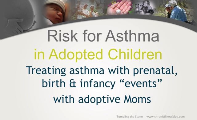 Bonding disruptions inherent with the process of adoption affect risk for asthma and treating adoptive mothers can help heal their kids' asthma.