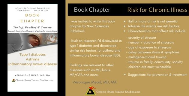 Book Chapter Timing, Bonding and Trauma How life events affect risk for chronic illness Veronique Mead, MD, MA