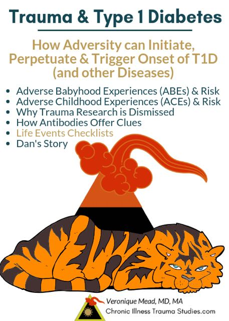 How trauma and adversity can initiate, perpetuate, and trigger onset of type 1 diabetes and other chronic diseases_Mead_CITS